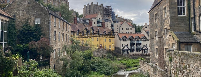Dean Village is one of EDI #EDINBURGH.