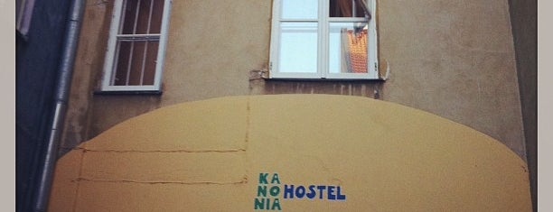 Kanonia Hostel Warsaw is one of Павелさんのお気に入りスポット.