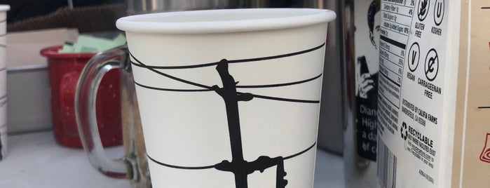 Highwire Coffee Kiosk is one of San Francisco Caffeine Crawl.