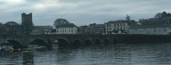 Killaloe is one of Mark's list of Ireland.