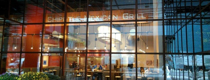 Chipotle Mexican Grill is one of NYC.