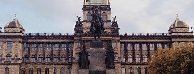 Václavské náměstí is one of Prague.