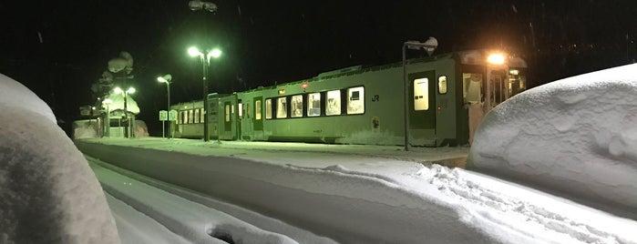 相野々駅 is one of JR 키타토호쿠지방역 (JR 北東北地方の駅).