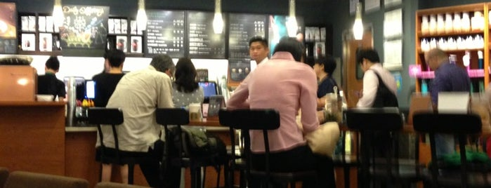Starbucks is one of E.さんのお気に入りスポット.