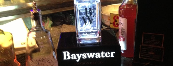 Pirata's Rock & Wey is one of Madrid ♥ Bayswater Gin.