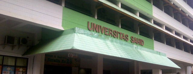 Universitas Sahid Jakarta is one of สถานที่ที่บันทึกไว้ของ Susan.