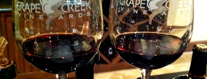 Grape Creek Vineyards is one of Texas.