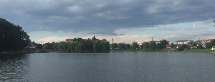 Парк ім. Трильовського is one of Lieux qui ont plu à Андрей.