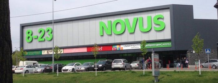 NOVUS is one of Locais curtidos por Marina.