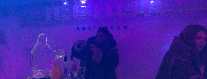XtraCold Icebar Amsterdam is one of Locais curtidos por AKIN.
