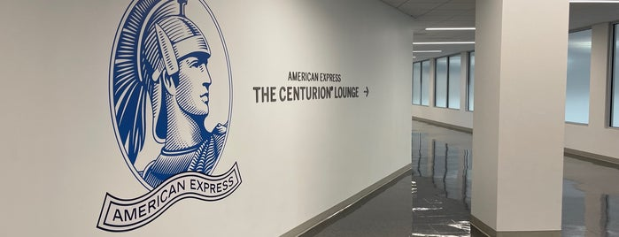 The Centurion Lounge by American Express is one of Tempat yang Disukai Marby.