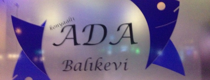 Ada Balık Evi is one of Cafe&Restaurants.