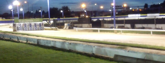 Perry Barr Greyhound Stadium is one of Locais curtidos por Falcon.