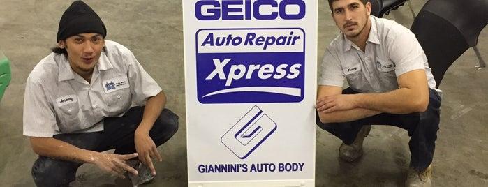 Giannini's Auto Body is one of Tempat yang Disimpan Jose Ricardo.