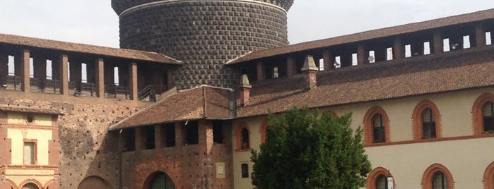 Castillo Sforzesco is one of Viagem 2013.