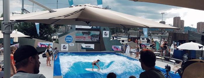 Urban Surf is one of Zürich.