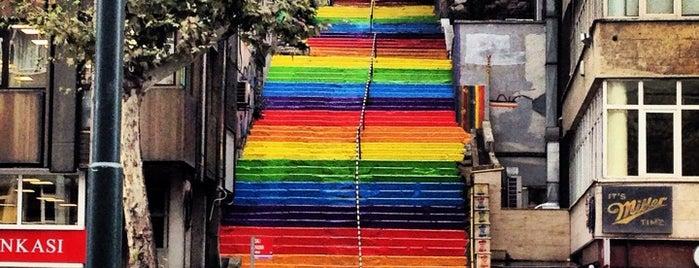 Fındıklı Renkli Merdivenler is one of İstanbul.
