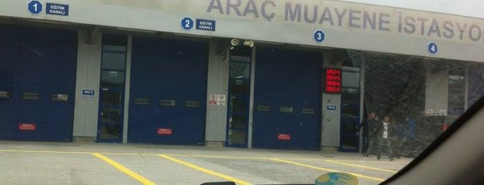 TÜVTÜRK Araç Muayene İstasyonu is one of Tempat yang Disukai Ömer.