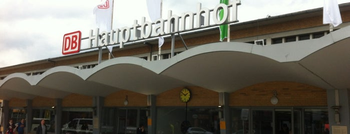 Wolfsburg Hauptbahnhof is one of Christoph: сохраненные места.