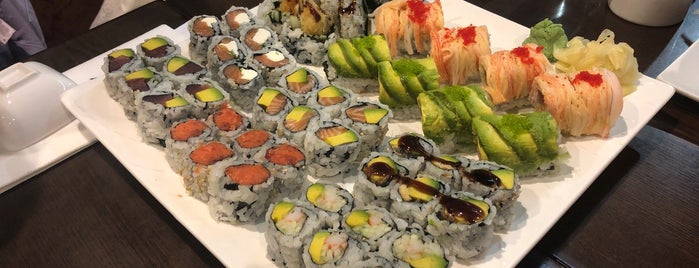 Aya Sushi is one of Work Food Gems.