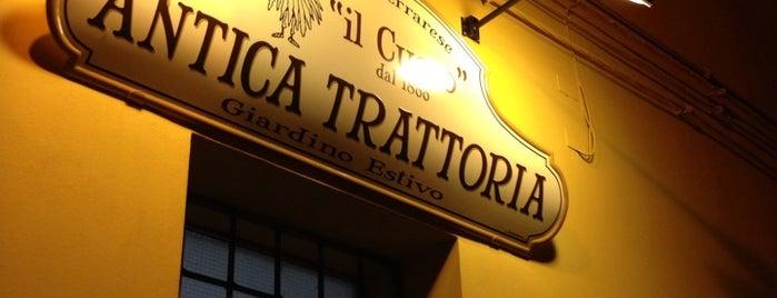 Il Cucco is one of Ferrara x.