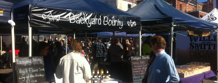 Farm Gate Market is one of Hobart.