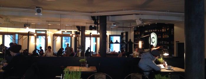 DAS CAMPUS is one of Vienna's wheelchair accessible restaurants.