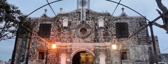 Parroquia De San Andrés Apostol Mixquic. is one of Mexico.