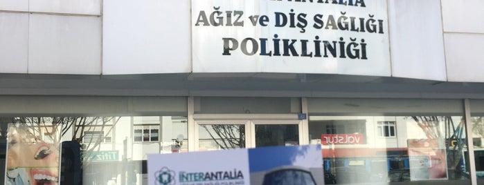 İnter Antalia Ağız ve Diş Sağlığı Merkezi is one of Gizem.