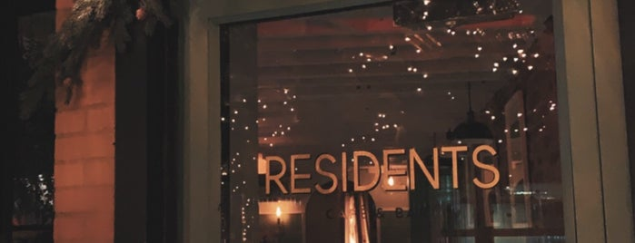 Residents is one of DC.
