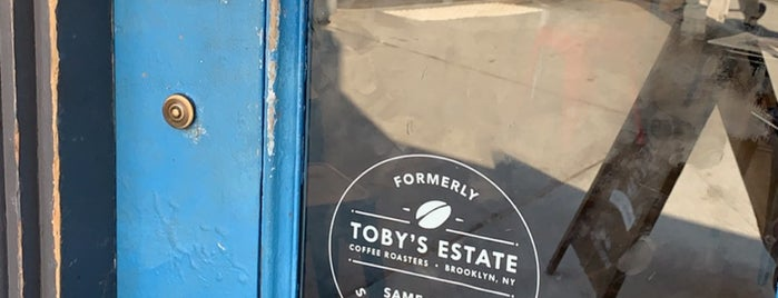 Toby's Estate Coffee is one of NYC: Caffeine & Sugar.