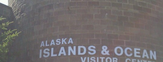 Alaska Islands & Ocean Visitor Center is one of Ishka 님이 좋아한 장소.