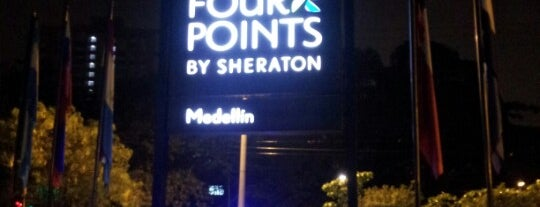 Four Points by Sheraton Medellin is one of Divya's Liked Places.