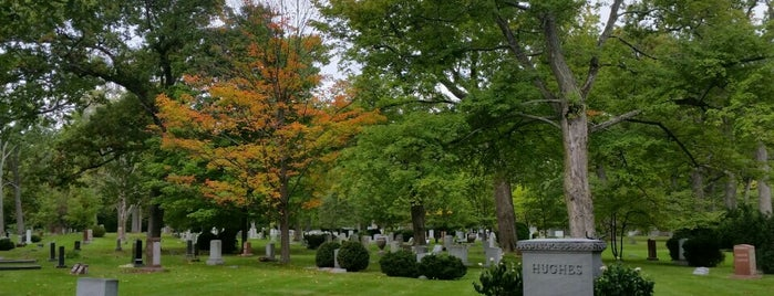 Lake Forest Cemetery is one of Chicago Part II.