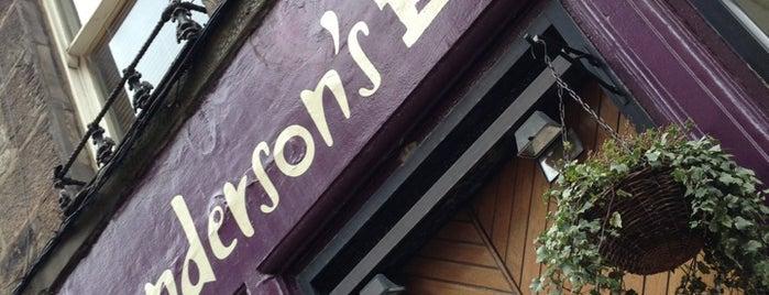 Henderson's is one of Orte, die Davide gefallen.