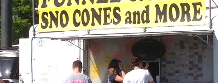 Sno Stop Sno Cones and Funnel Cakes is one of Food.
