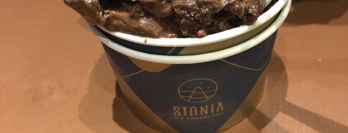 Stonia Ice Creamland is one of Alexandre 님이 좋아한 장소.