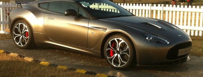 Aston Martin 100 years celebration is one of Orte, die ALi gefallen.