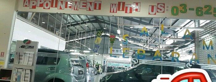 Perodua Service Centre, Segambut is one of ÿt : понравившиеся места.