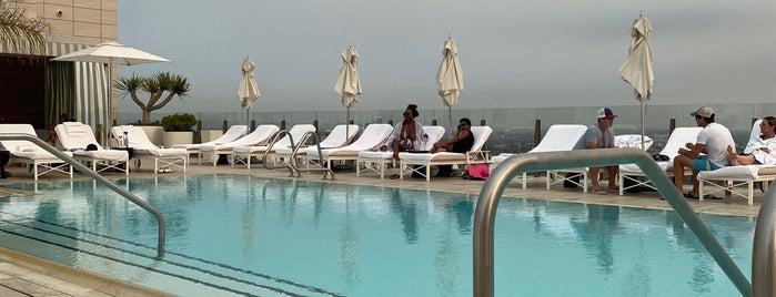 Waldorf Astoria Rooftop is one of LA.