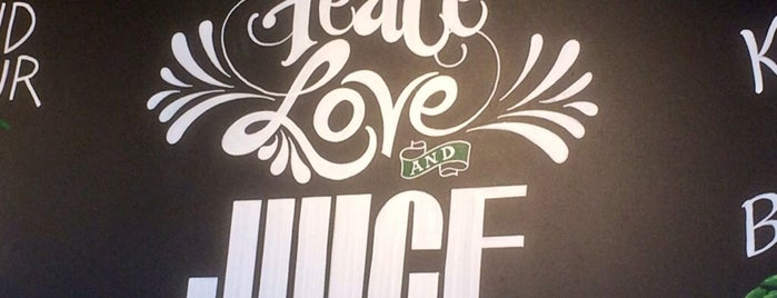 Juice Generation is one of NY Green.