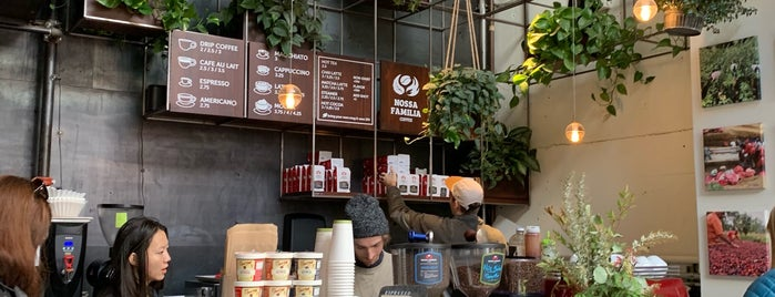 Nossa Familia Coffee is one of Portland.