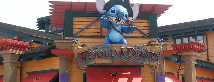 World of Disney is one of DISNEY.