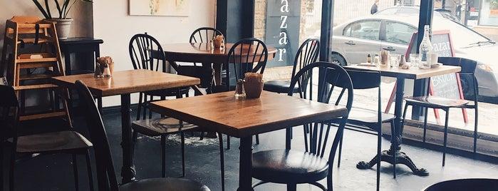 Bazar Café is one of Restos.