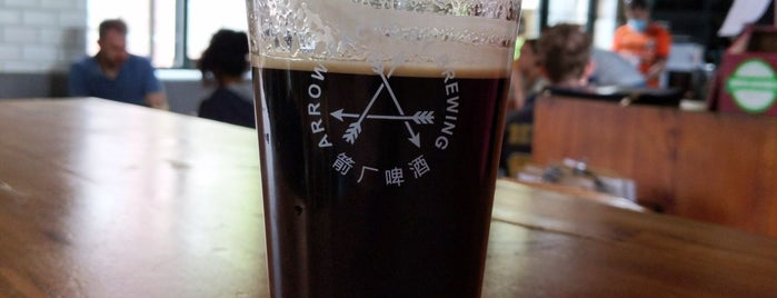 Arrow Factory Brewing is one of Douglasさんの保存済みスポット.