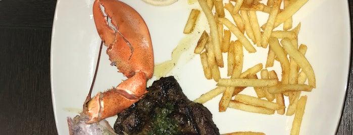 Steak & Lobster is one of London.
