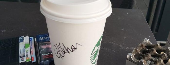 Starbucks is one of Lieux qui ont plu à Berrin.