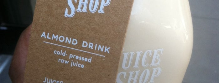 Juice Shop is one of Juice Bars Cali.