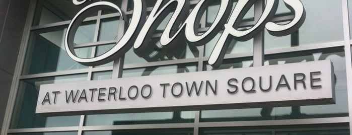The Shops at Waterloo Town Square is one of Lugares favoritos de Alex.