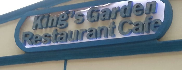 King's Garden Restaurant is one of Fethye.
